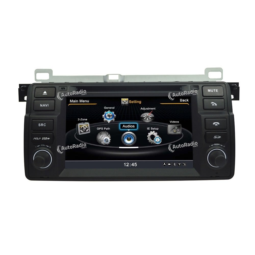 poste autoradio dvd gps bmw e46 1998 2006 car dvd bmw aux. Black Bedroom Furniture Sets. Home Design Ideas