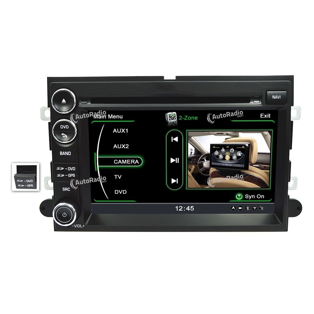 2004 ford f150 factory gps navigation radio upgrade plug. Black Bedroom Furniture Sets. Home Design Ideas