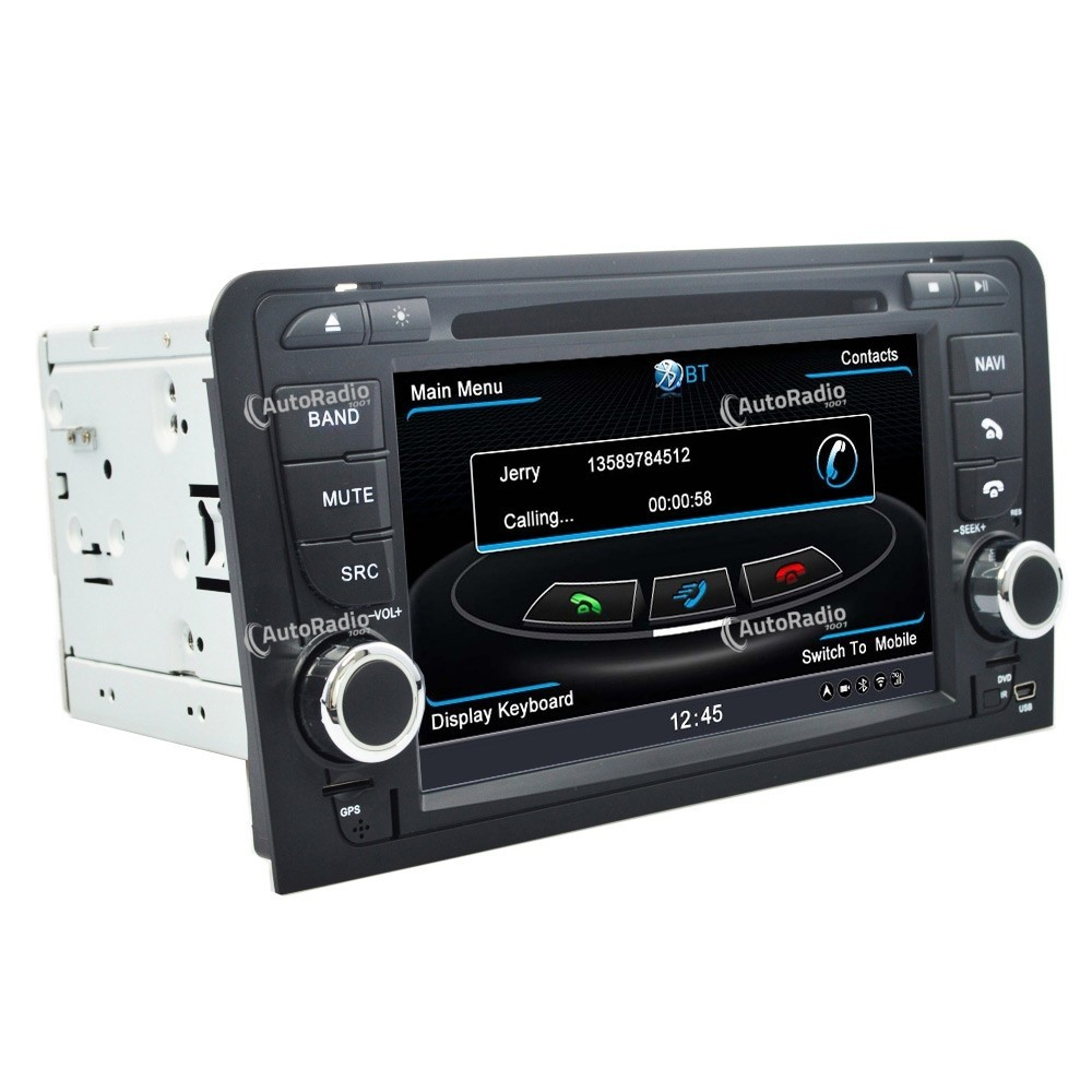 poste autoradio dvd gps audi a3 2003 2012 aux prix les plus bas sur notre boutique en ligne. Black Bedroom Furniture Sets. Home Design Ideas
