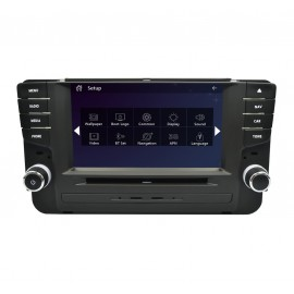 autoradio volkswagen golf vii gps dvd android bluetooth. Black Bedroom Furniture Sets. Home Design Ideas
