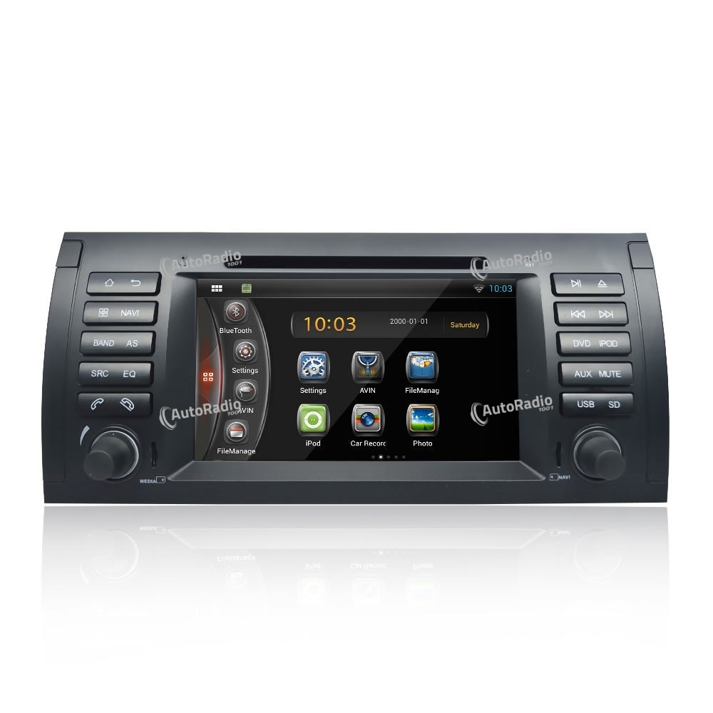 autoradio gps bmw e39 1998 2006 6 5 inch screen bas prix. Black Bedroom Furniture Sets. Home Design Ideas