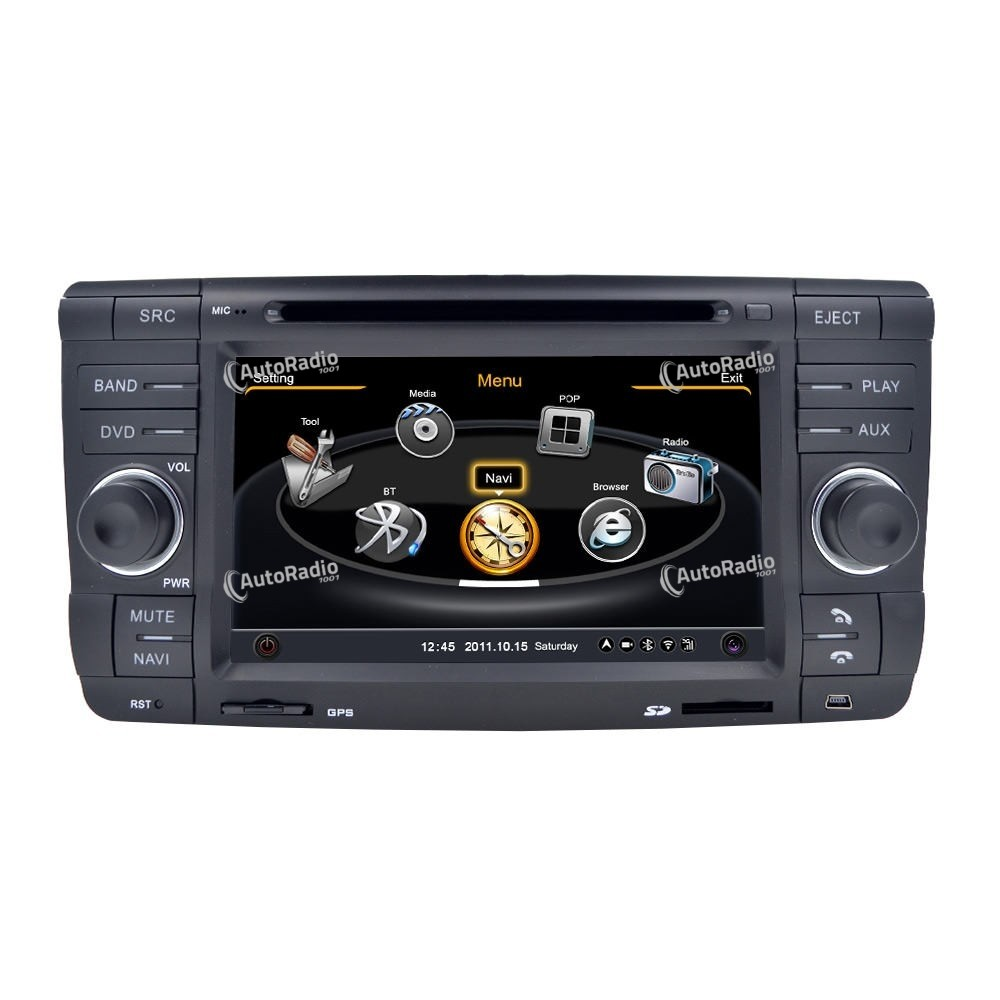 poste autoradio dvd gps skoda octavia ii 2007 2009 aux. Black Bedroom Furniture Sets. Home Design Ideas