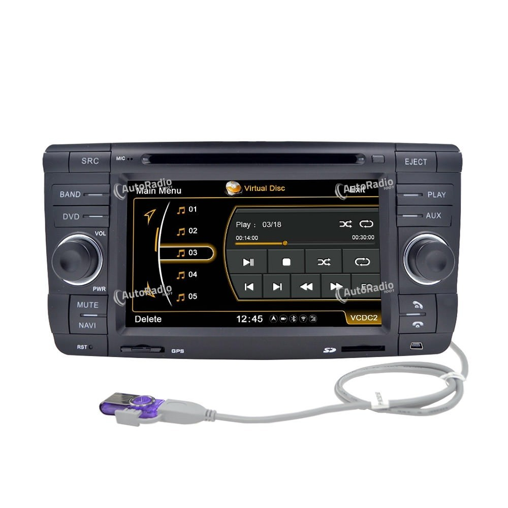 poste autoradio dvd gps skoda octavia ii 2007 2009 aux prix les plus bas sur notre boutique en. Black Bedroom Furniture Sets. Home Design Ideas