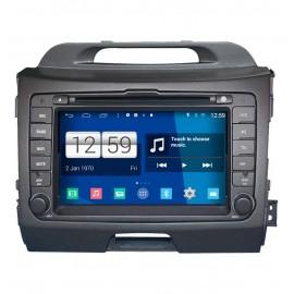 Autoradio Android 4.4 KIA Sportage (2010-2011)