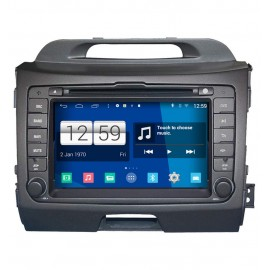 Car Navigation Android 4.4 KIA Sportage (2010-2011)