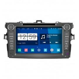 Navigatore Android 4.4 Toyota Corolla (2007-2012)