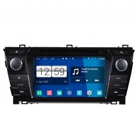 Navigatore Android 4.4 Toyota Corolla 2014