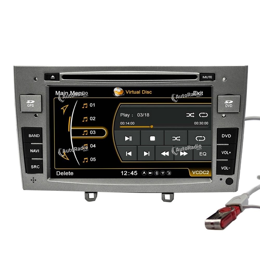 poste autoradio dvd gps peugeot peugeot 308 aux prix les. Black Bedroom Furniture Sets. Home Design Ideas