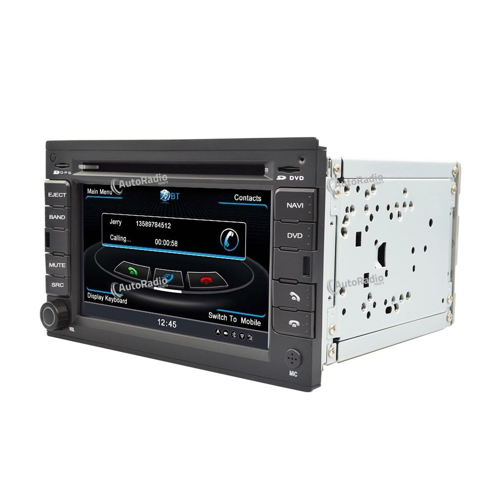 poste autoradio gps dvd vw golf4 b5 bora polo skoda. Black Bedroom Furniture Sets. Home Design Ideas