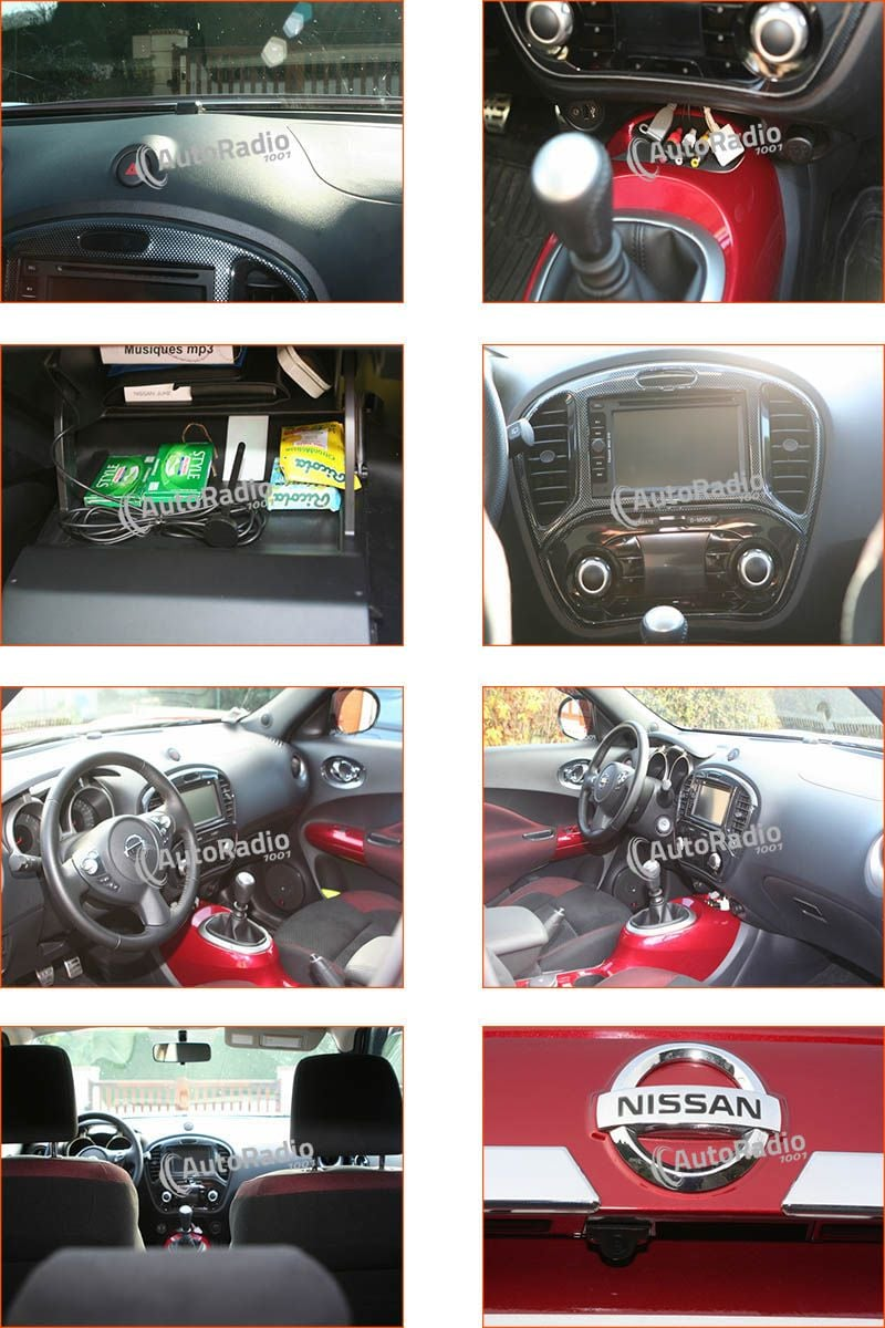 photos d 39 installation autoradio nissan juke acenta 1 5 dci 2011. Black Bedroom Furniture Sets. Home Design Ideas