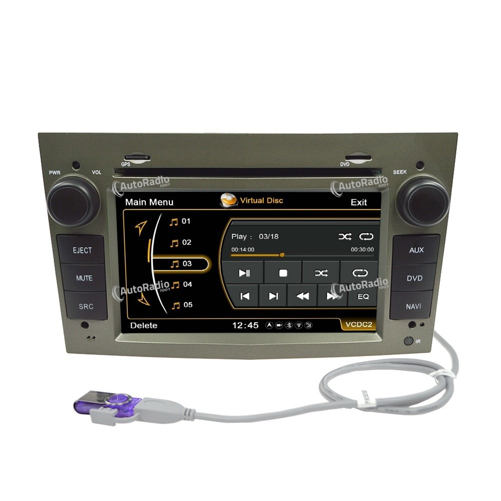 poste autoradio dvd gps opel astra vectra antara aux prix. Black Bedroom Furniture Sets. Home Design Ideas