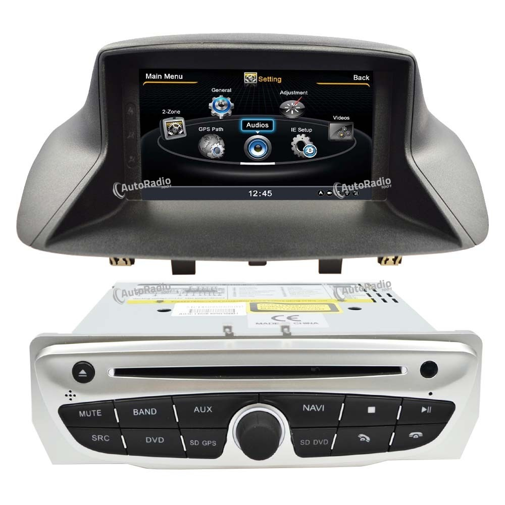 the latest car dvd gps renault megane 3 fluence 2009 2011 at the best price. Black Bedroom Furniture Sets. Home Design Ideas