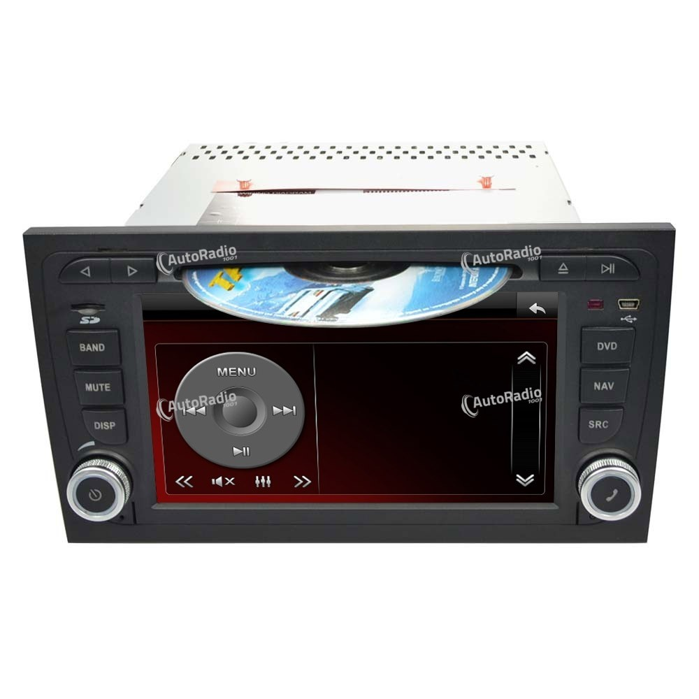 autoradio gps audi a4 7 inch screen a basso prezzo. Black Bedroom Furniture Sets. Home Design Ideas