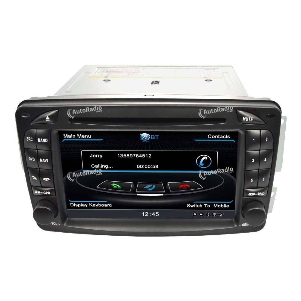 the latest car dvd gps mercedes benz class c w203 old. Black Bedroom Furniture Sets. Home Design Ideas