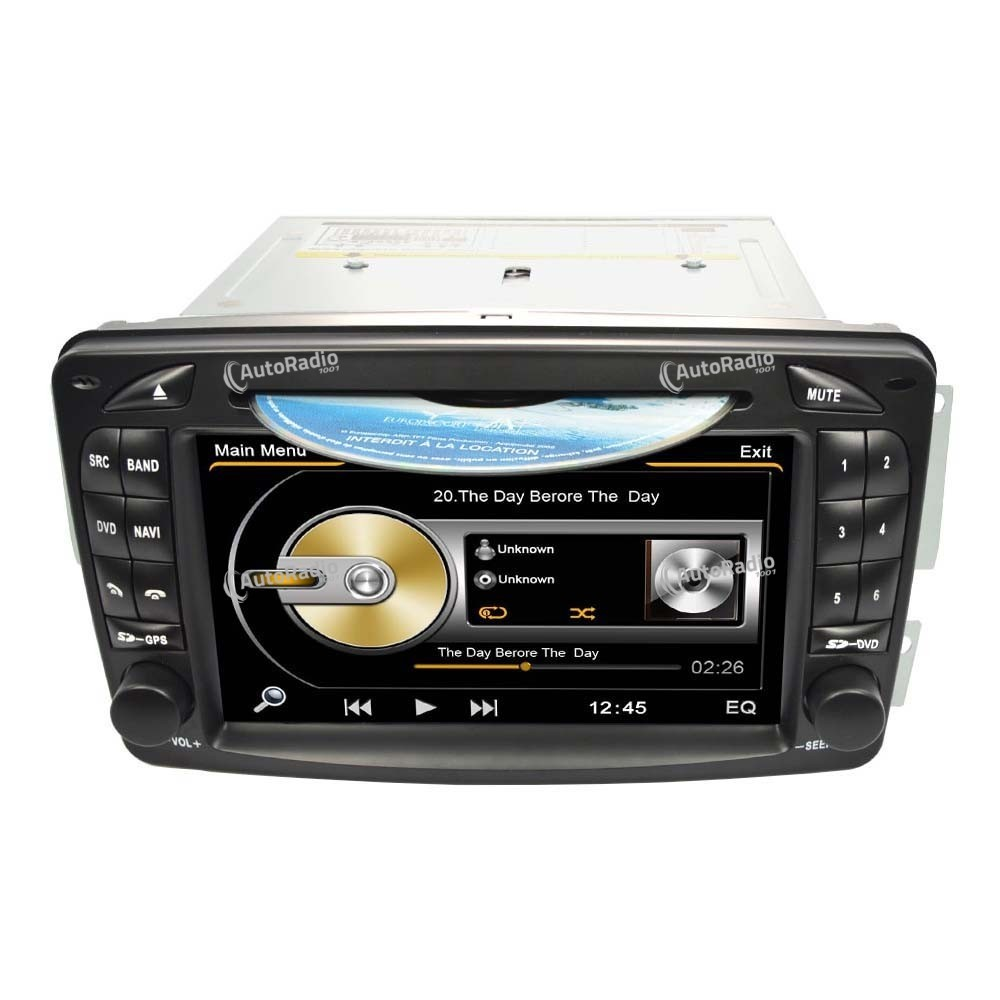The latest car dvd gps mercedes benz class c w203 old for Mercedes benz gps system