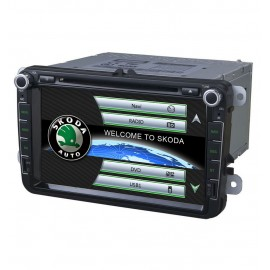 "GPS Skoda Superb 8"" (2006-2013)"