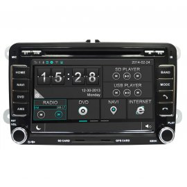 photo- Auto-Rádio GPS VW Golf V (2003-2009) M