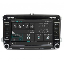 photo- Auto-Rádio GPS VW Golf VI (2009-2011) M