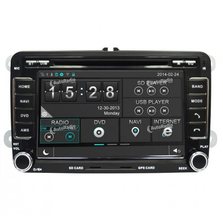 Autoradio GPS VW Polo 6 (03/2010-2013)