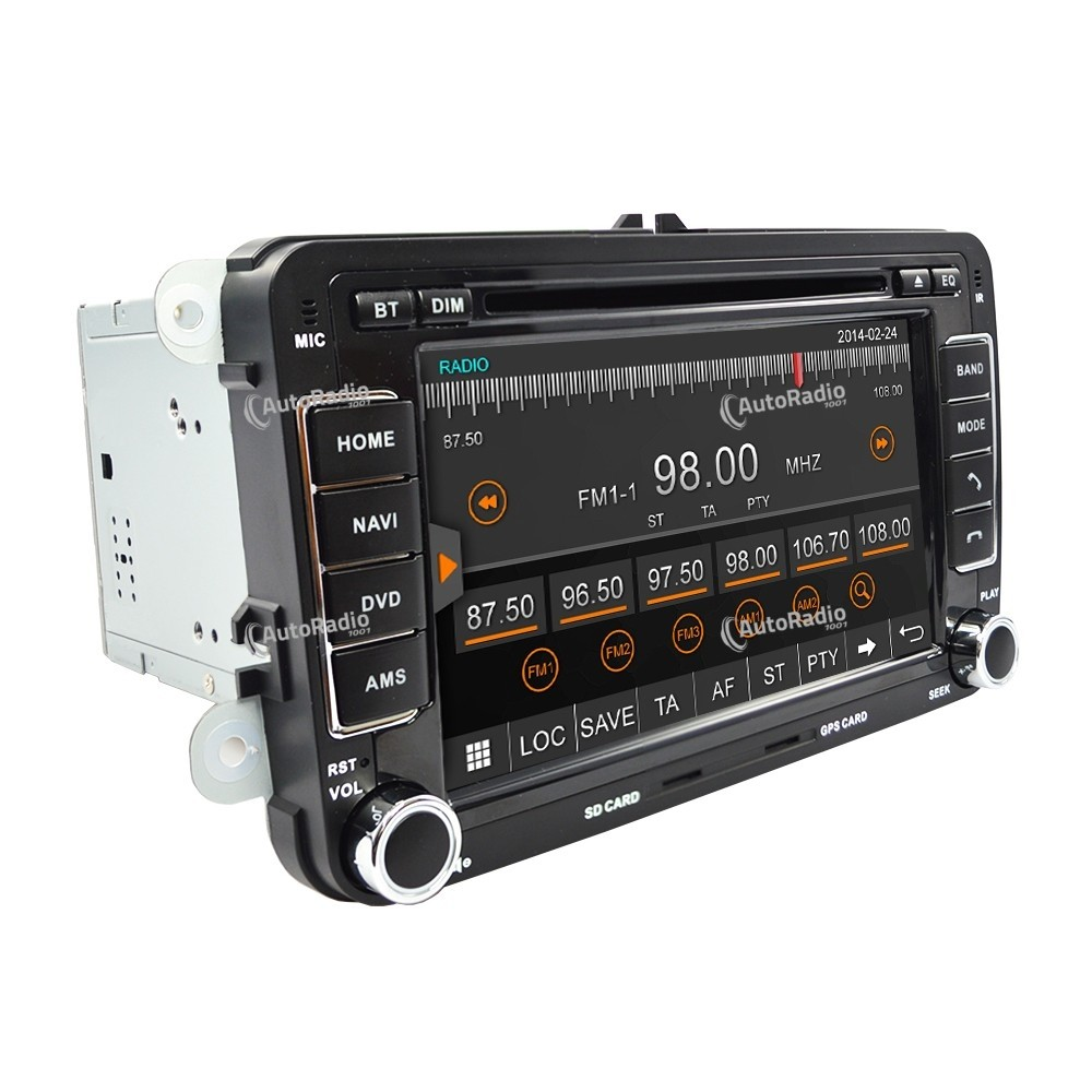 autoradio gps vw tiguan 2007 2011. Black Bedroom Furniture Sets. Home Design Ideas