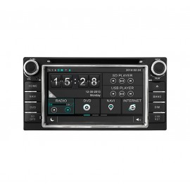 Auto radio Toyota Land Cruiser 100 series (1998-2007)