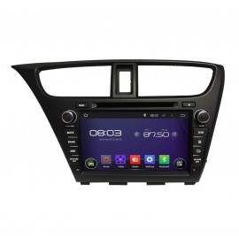 Auto Radio Android 8.0 Honda Civic 2014