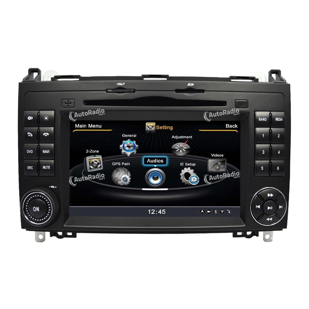 poste autoradio dvd gps mercedes benz a b class w169 w205 aux prix les plus bas sur notre bouti. Black Bedroom Furniture Sets. Home Design Ideas