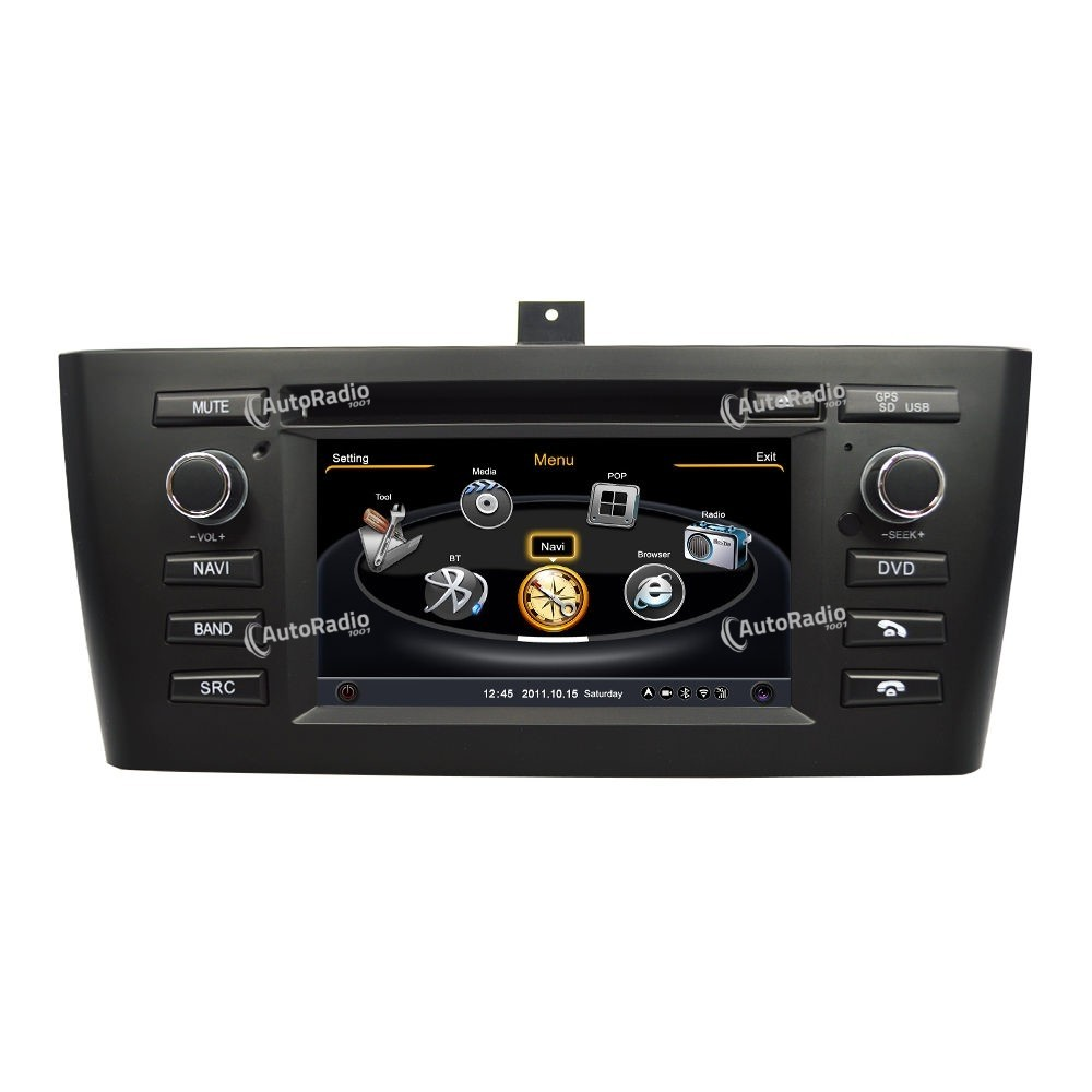 poste autoradio dvd gps bmw x1 series aux prix les plus bas sur notre boutique en ligne. Black Bedroom Furniture Sets. Home Design Ideas