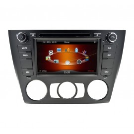 autoradio bmw serie 1 gps dvd android bluetooth zum besten. Black Bedroom Furniture Sets. Home Design Ideas