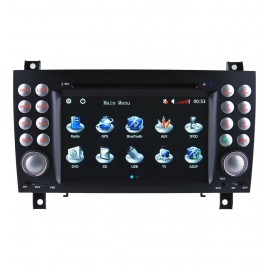 Auto-Rádio GPS Mercedes Benz SLK 171 (2004-2011)