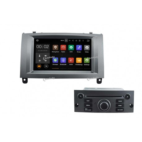 poste autoradio dvd gps peugeot peugeot 307 aux prix les. Black Bedroom Furniture Sets. Home Design Ideas