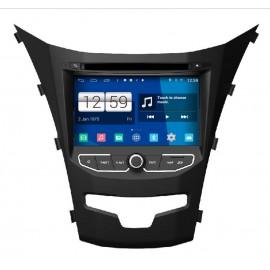 Autoradio GPS Android 4.4 Ssangyong Korando 2014