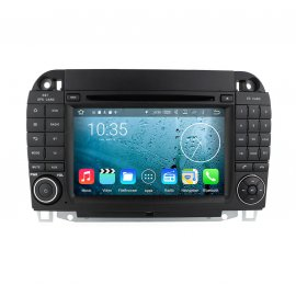 Autoradio Android 8.0 Mercedes Benz S Class W220 (1998-2005)