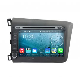 Car Stereo Android 8.0 Honda CIVIC (2012)