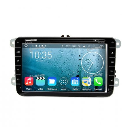Autoradio Android 8.0 Volkswagen Golf 6 (2009-2011)