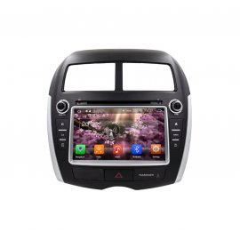 Car Stereo Android 8.0 Peugeot 4008 2012