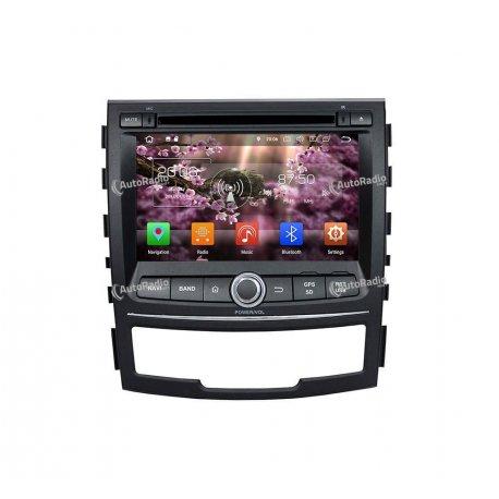 Auto Radio Android 8.0 Ssangyong Korando (2010-2013)