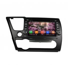 Auto Radio Android 8.0 Honda Civic Saloon 2014