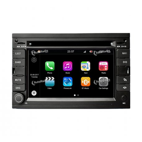 Navigatore Android 8.0 Peugeot 307 (2002-2010)