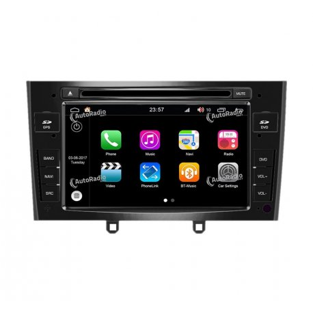 Navigatore Android 8.0 Peugeot 408 (2010-2011)
