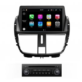 Car Navigation Android 8.0 Peugeot 207