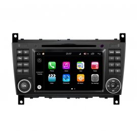 Navigatore Android 8.0 Mercedes Benz C class W203 (2004-2007)