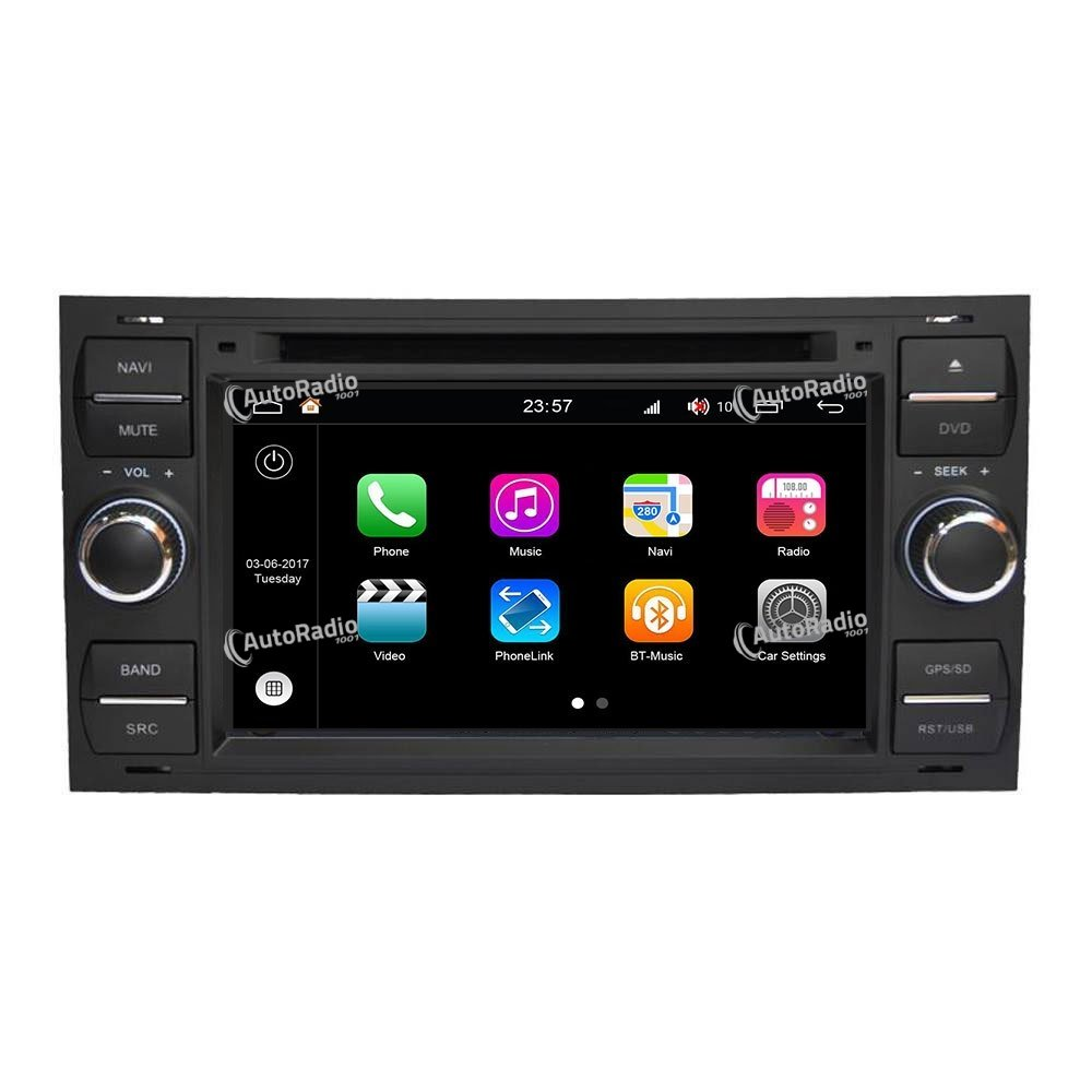 poste autoradio dvd gps ford focus black or silver aux prix les plus bas sur notre boutique en. Black Bedroom Furniture Sets. Home Design Ideas