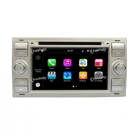 Navigatore Android 8.0 Ford Focus 2 - Phase 1 (2005-2007)