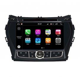 Autoradio GPS Android 8.0 Hyundai Santa Fe (2012-2013)