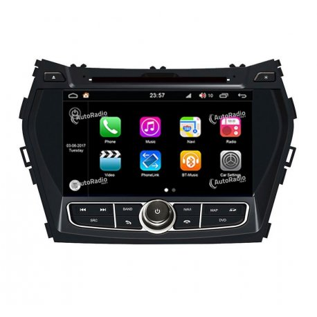 Autoradio Android 8.0 Hyundai Santa Fe (2012-2013)