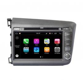 Car Navigation Android 8.0 Honda Civic 2012