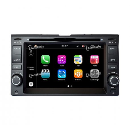 Car Navigation Android 8.0 KIA Sportage 2 (2004-2010)