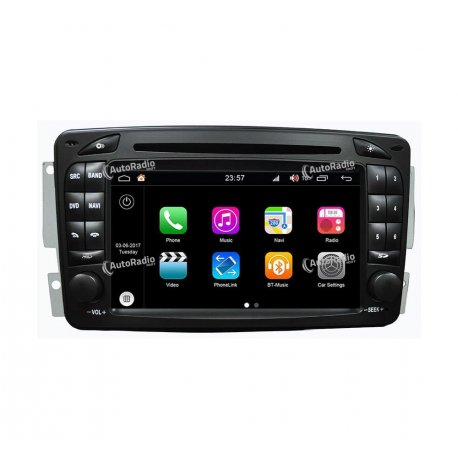 Autoradio GPS Android 8.0 Mercedes Benz Class C W203 Old version