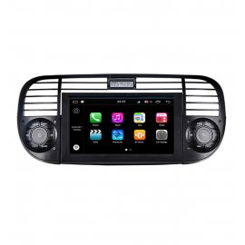 autoradio fiat 500 gps dvd android bluetooth zum besten. Black Bedroom Furniture Sets. Home Design Ideas